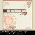 Sweet Escape QuickPage Embellishment-$0.99 (Amy Teets)