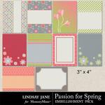 Passion for Spring Journal Cards Pack-$1.99 (Lindsay Jane)