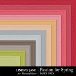 Passion for Spring Embossed Paper Pack-$1.99 (Lindsay Jane)