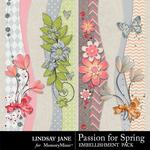 Passion for Spring Border Pack-$1.99 (Lindsay Jane)