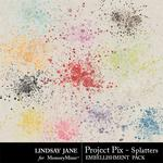 Project Pix Splatters Pack-$2.49 (Lindsay Jane)