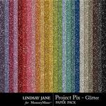 Project Pix Glitter Paper Pack-$2.49 (Lindsay Jane)