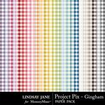 Project Pix Gingham Paper Pack-$2.49 (Lindsay Jane)