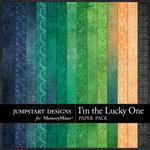 I'm the Lucky One Blend Paper Pack-$2.10 (Jumpstart Designs)