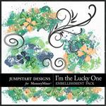 I'm the Lucky One Splatters-$1.49 (Jumpstart Designs)