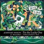 I'm the Lucky One Embellishment Pack-$3.49 (Jumpstart Designs)