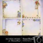 Sweet Home Stacked Paper Pack-$1.50 (Fly Pixel Studio)
