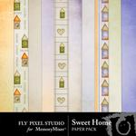 Sweet Home Paper Pack-$1.75 (Fly Pixel Studio)