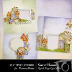 Sweet Home QuickPage Embellishments-$1.75 (Fly Pixel Studio)