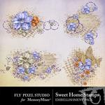 Sweet Home Stamps Pack-$1.00 (Fly Pixel Studio)