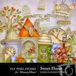 Sweet Home Embellishment Pack-$2.99 (Fly Pixel Studio)