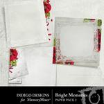 Bright Memories Stacked Paper Pack-$2.99 (Indigo Designs)