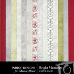 Bright Memories Paper Pack-$2.99 (Indigo Designs)