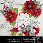 Bright Memories Clusters Pack-$1.99 (Indigo Designs)