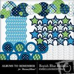 Boyish Blue Extras Builders Pack-$2.99 (Albums to Remember)