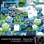 Boyish Blue Combo Pack-$4.99 (Albums to Remember)