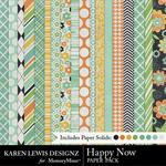 Happy Now Paper Pack-$3.99 (Karen Lewis)
