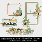 Happy Now Cluster Pack-$1.99 (Karen Lewis)