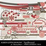 Spellbound Embellishment Pack-$3.99 (Karen Lewis)
