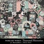 Treasured Memories Mega Pack-$5.99 (Word Art World)
