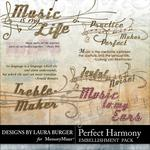 Perfect Harmony WordArt-$2.49 (Laura Burger)