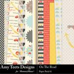 On the Road Paper Pack 1-$3.49 (Amy Teets)