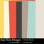 On the Road Solid Paper Pack-$2.99 (Amy Teets)