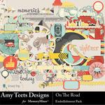 On the Road Embellishment Pack-$3.49 (Amy Teets)