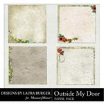 Outside my Door Stacked Paper Pack-$2.49 (Laura Burger)