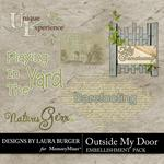 Outside My Door WordArt-$1.25 (Laura Burger)