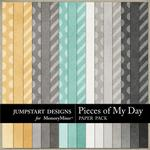 Pieces of My Day Basic Paper Pack-$3.49 (Jumpstart Designs)