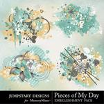 Pieces of My Day Splatters-$2.99 (Jumpstart Designs)
