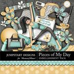 Pieces of My Day Fitness Combo Pack-$3.49 (Jumpstart Designs)