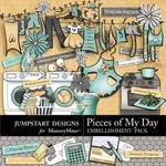 Pieces of My Day Womans Work Combo Pack-$7.99 (Jumpstart Designs)