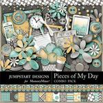 Pieces of My Day Combo Pack-$7.99 (Jumpstart Designs)