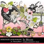 In Bloom Embellishment Pack-$3.49 (Laura Burger)