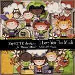 I Love You This Much Combo Pack-$5.99 (Fayette Designs)