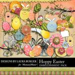 Hoppy Easter Embellishment Pack-$3.49 (Laura Burger)