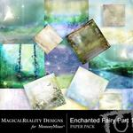 Enchanted Fairies Paper Pack-$3.99 (MagicalReality Designs)