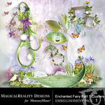 Enchanted Fairies Clusters 1-$1.99 (MagicalReality Designs)
