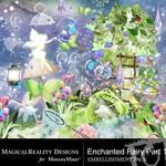 Enchanted Fairies Embellishment Pack-$3.49 (MagicalReality Designs)