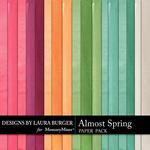Almost Spring LB Solid Paper Pack-$3.49 (Laura Burger)