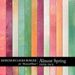 Almost Spring LB Grunge Paper Pack-$3.49 (Laura Burger)