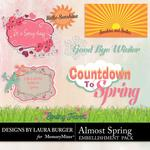 Almost Spring LB Word Art-$2.49 (Laura Burger)