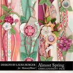 Almost Spring LB Borders-$2.49 (Laura Burger)