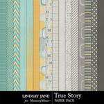 True Story Paper Pack-$3.49 (Lindsay Jane)