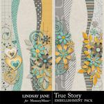 True Story Borders-$1.99 (Lindsay Jane)