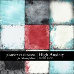 High Anxiety Painted Paper Pack-$2.99 (Jumpstart Designs)