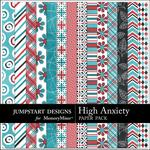High Anxiety Pattern Paper Pack-$3.49 (Jumpstart Designs)
