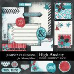 High Anxiety Journal Bits-$2.49 (Jumpstart Designs)